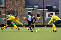 Railway Union v Three Rock Rovers, February 13 2016, Men's EY Hockey League. Park Avenue