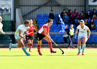 Nicola Kerr on the attack