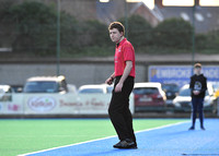 Umpire Malcolm Coombes