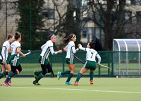 Muckross celebrate a Niamh Gowing goal
