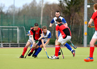 Catholic Institue v Ballynahinch, March 25 2018, Men's Irish Hockey Challenge final, Belfield