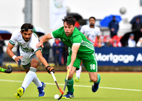 Daragh Walsh battles for the ball